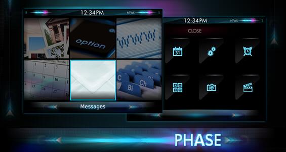 Premium BlackBerry Theme:  Phase By Elecite