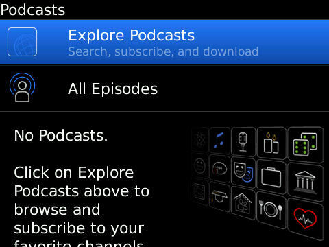 Free Download:  BlackBerry Podcasts App Now Available In BlackBerry App World