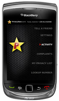 PrivacyStar Updated To v2.0 With A New UI And Support For The BlackBerry Torch