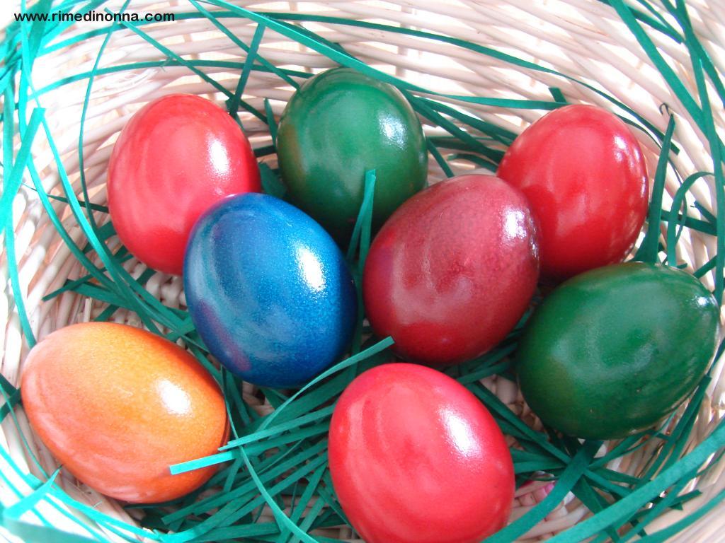 Colorare le uova in modo naturale  Rimedi della Nonna