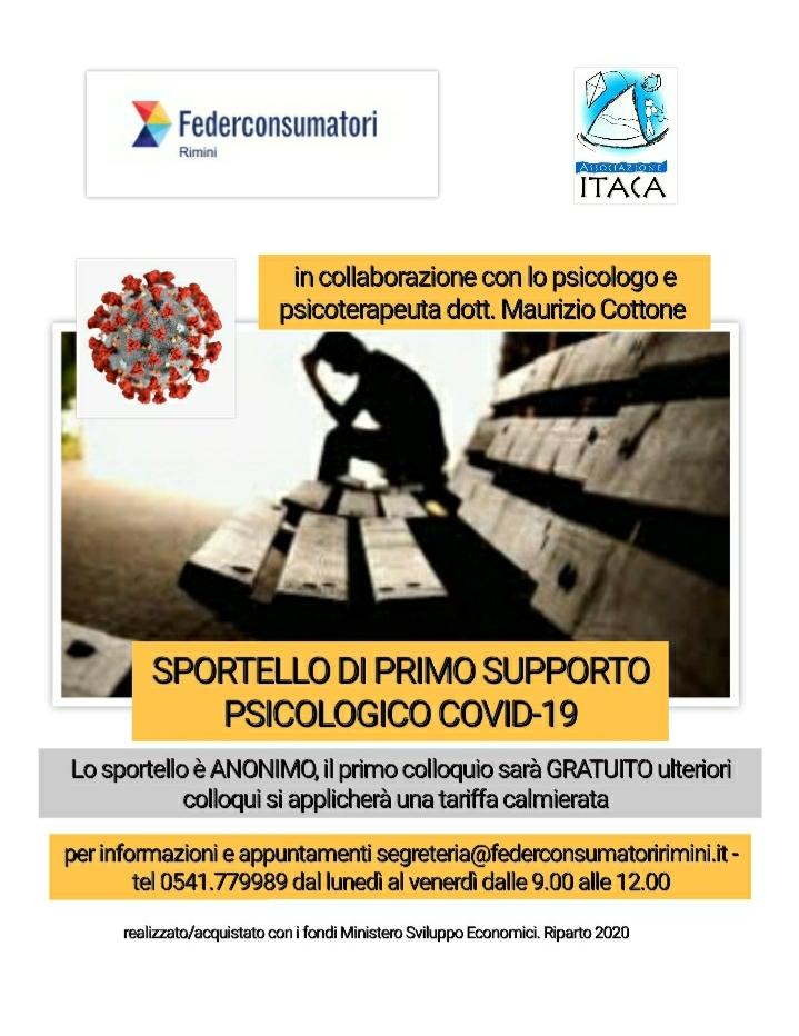 """Sportello Psicologico """"COVID-19"""""""