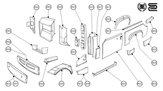 Body Panels: Quarter Midget Body Panels