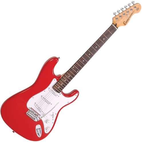 small resolution of encore encore e6red electric guitar gloss red