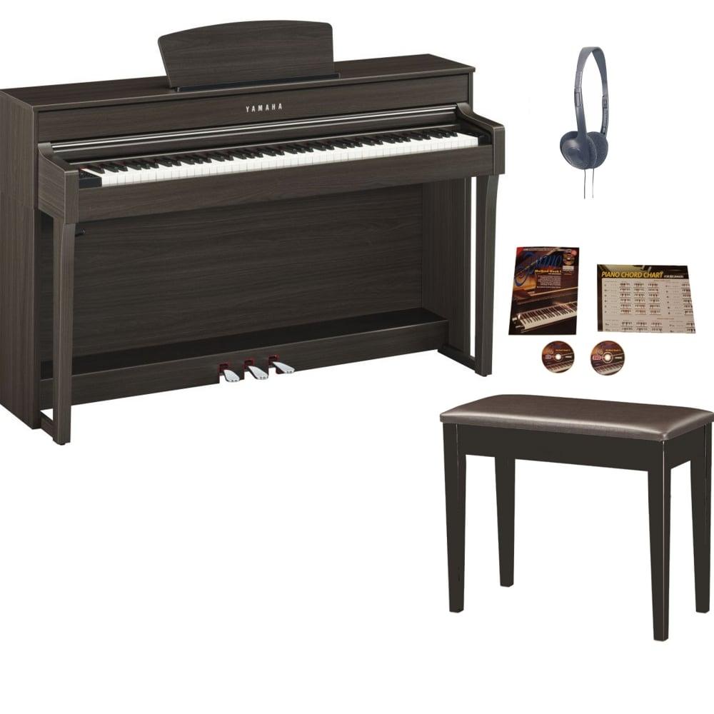 hight resolution of yamaha clp 635 clavinova digital piano dark walnut package