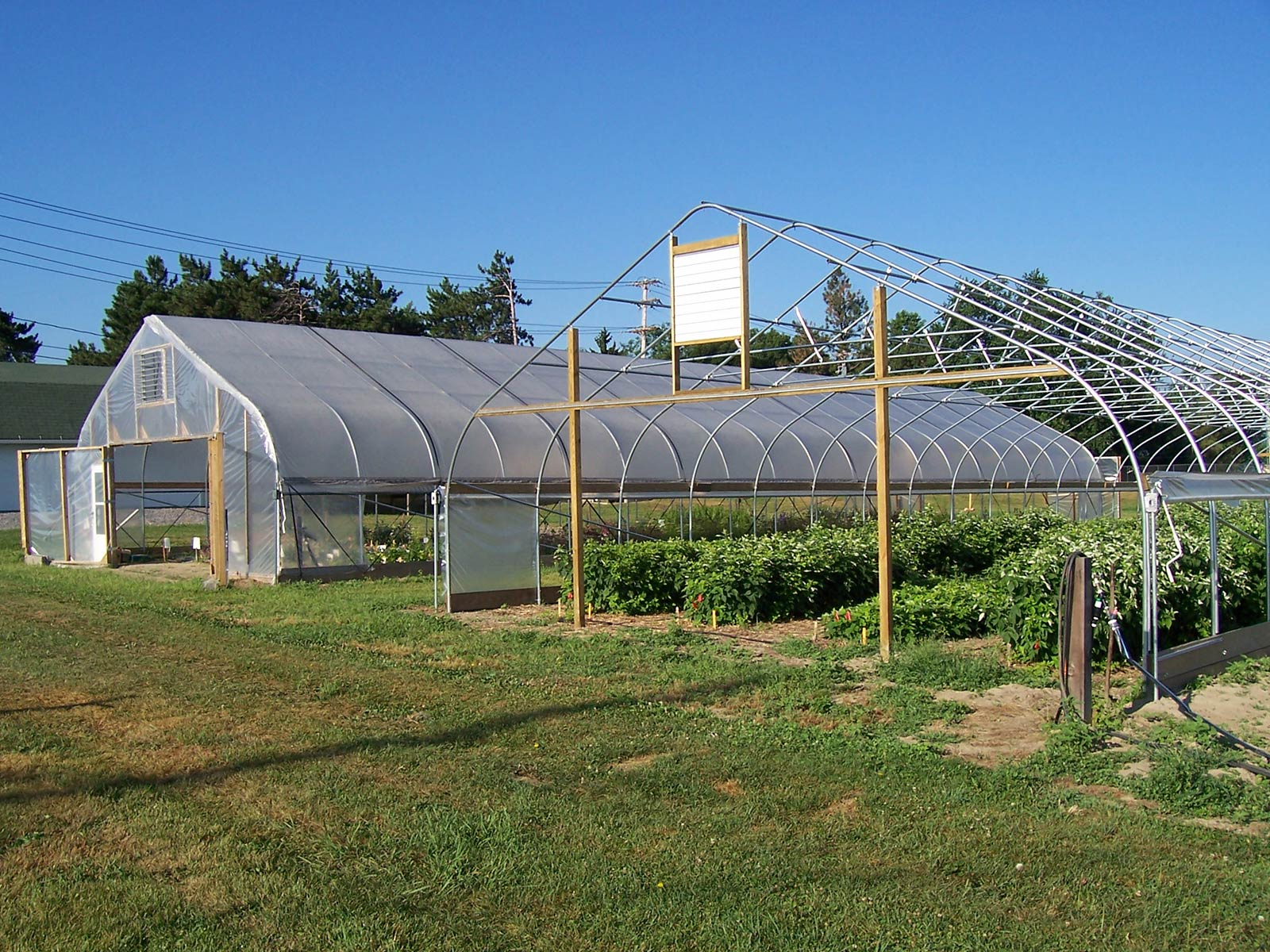 High Tunnel Greenhouse