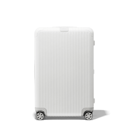 white suitcases lightweight carry