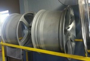 Wheel On Rack