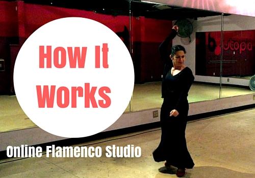 Take a Peek Inside the Online Flamenco Studio