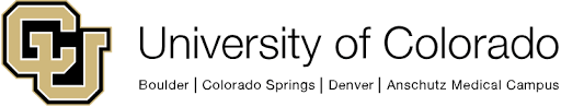 University of Colorado logo.
