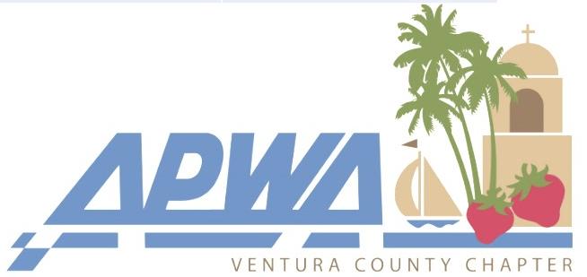 American Public Works Association Ventura County Chapter logo.