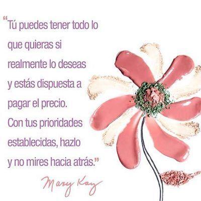 Frases de Mary Kay Ash una historia de éxito