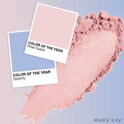 Color del año 2016 de Pantone: Mary kay