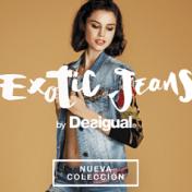 vaqueros de Desigual Exótic Jeans