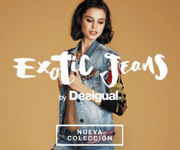 vaqueros Desigual Exótic Jeans
