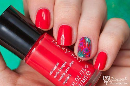 Diseños de uñas: mary kay paradise