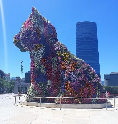 Visita a Bilbao: Puppy