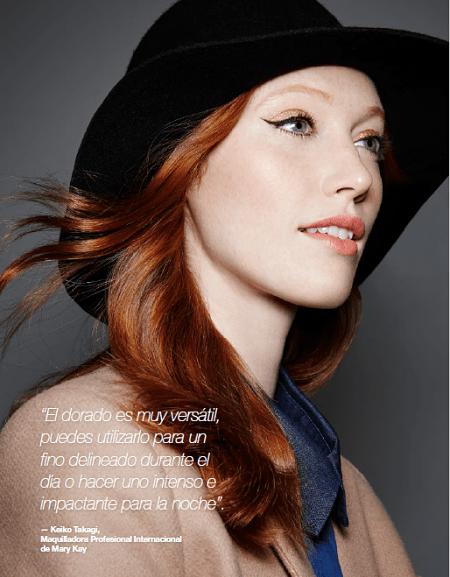 maquillaje otoño 2016: la estilista