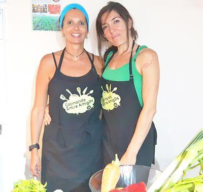 Taller de cocina de Cocinando entre amig@as: Laura y Diana