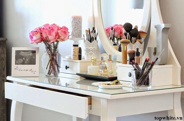 Ideas y productos para organizar tu rincón de belleza: tocador