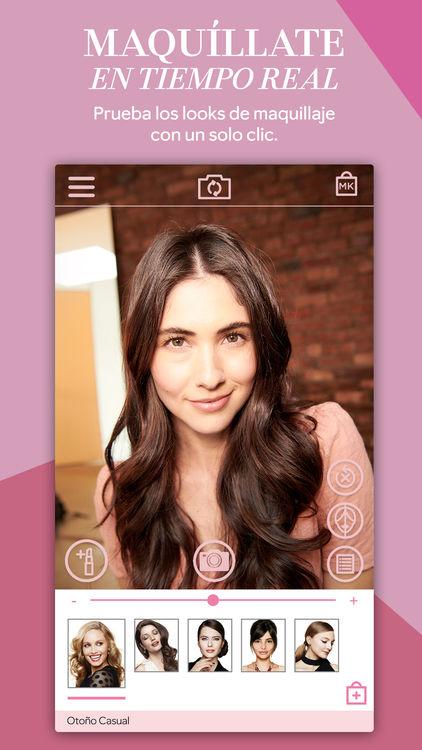 Mirror me app de Mary Kay