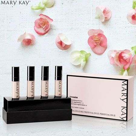 Beneficios del sérum vitamina C Mary Kay