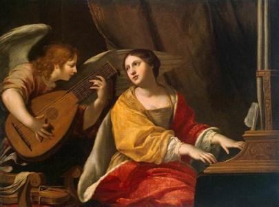 Ilustración de Santa Cecilia