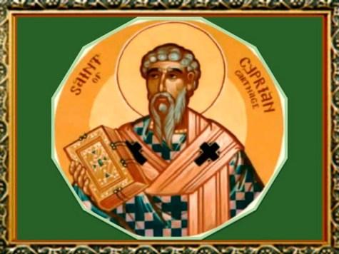 Estampas de Cipriano de Cartago