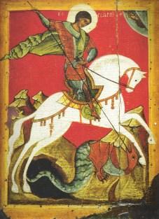 Ilustración de San Jorge