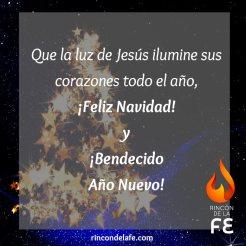 Imágenes con frases cristianas de Navidad y Año Nuevo