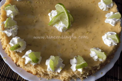 key lime pie sin gluten