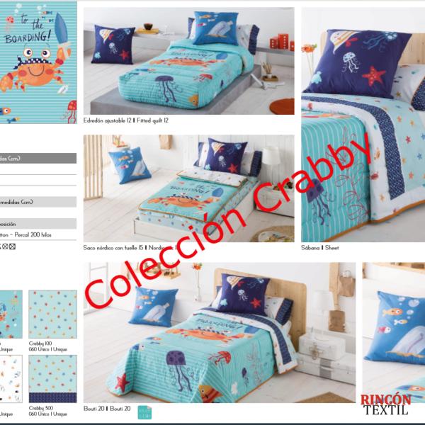 Colección Infantil JVR Crabby