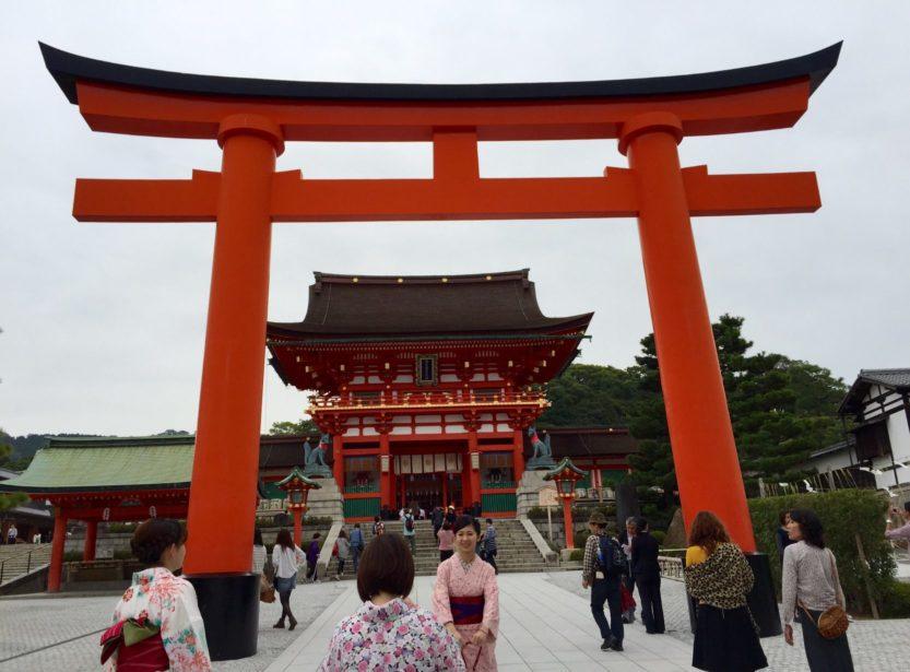 Shrines in Kyoto