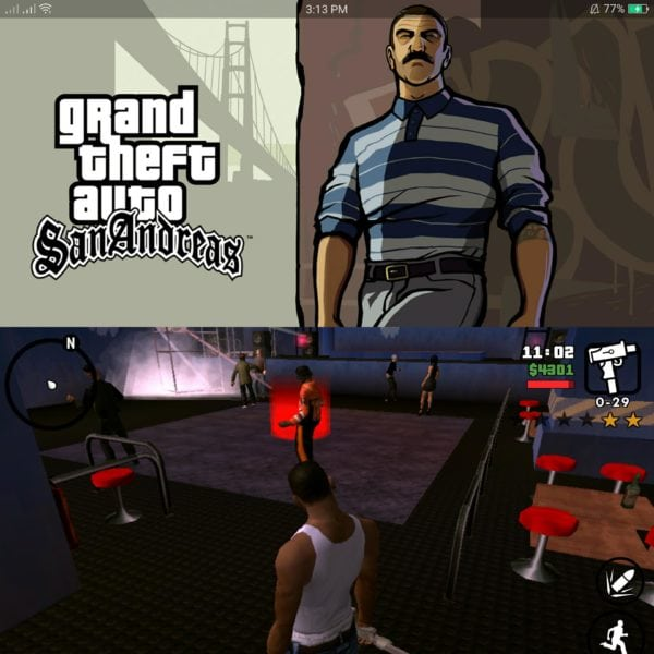 gran theft game app Sam RingBeep