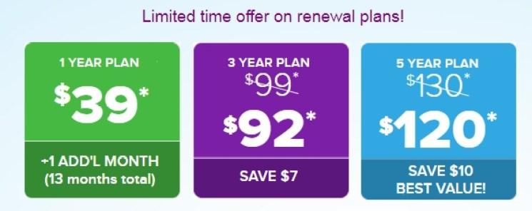 MagicJack pricing plan