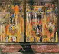 Hafenkneipe, Ölgemälde, 1933, Hamburger Kunsthalle