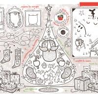 Jeux et coloriages sur le thème de Noël