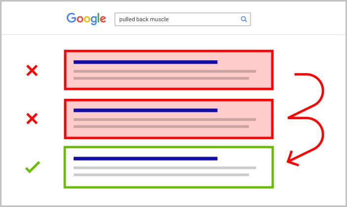 Google rankbrain  透過觀察點擊率進行 SEO