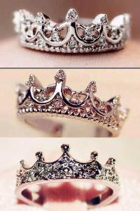 925 Sterling Silver Princess Crown Ring Review