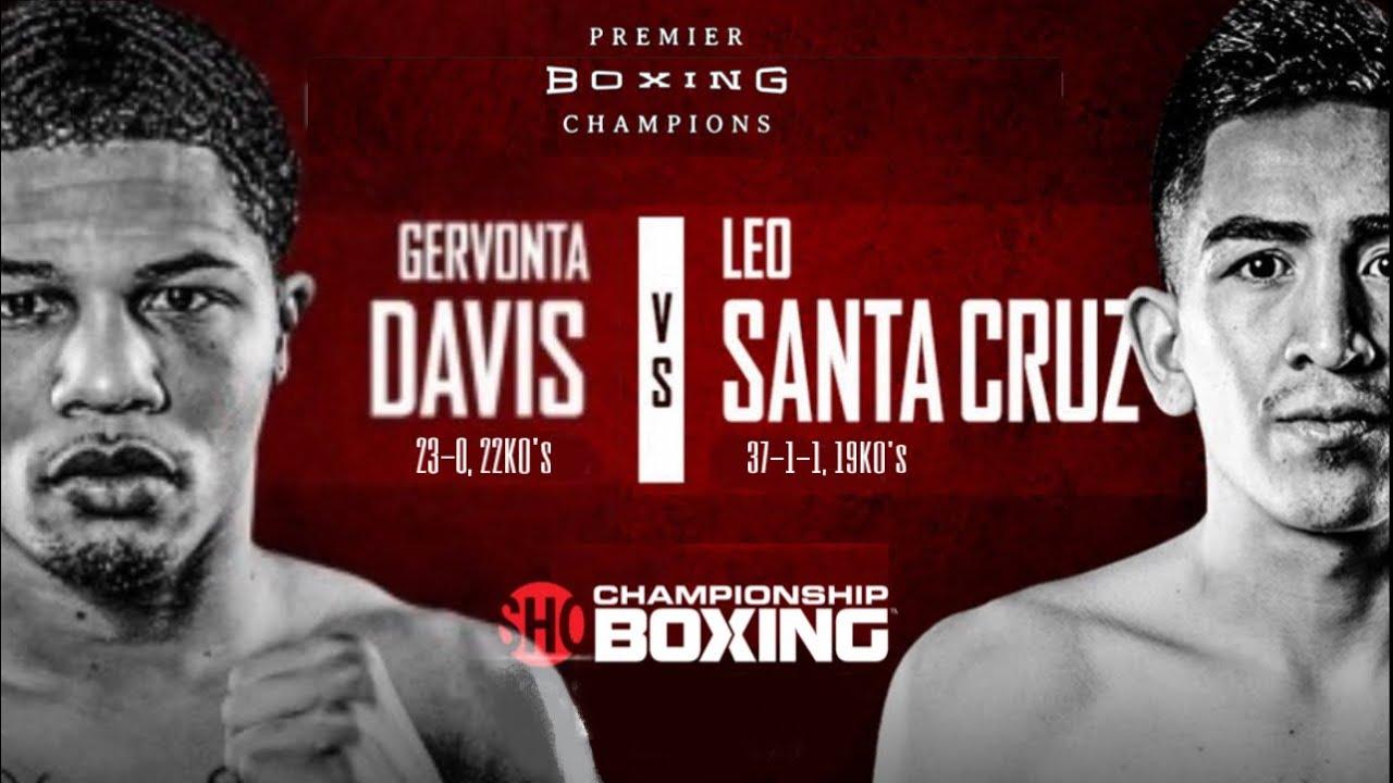 GERVONTA DAVIS VS LEO SANTA CRUZ | Featured Fights