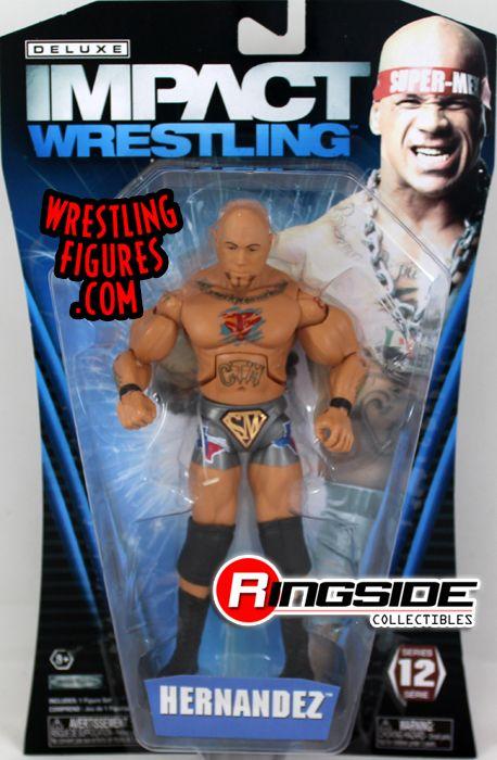 Hernandez  TNA Deluxe Impact 12 TNA Toy Wrestling Action