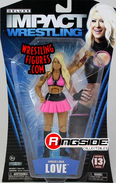 Angelina Love  Deluxe Impact 13 TNA Toy Wrestling Action