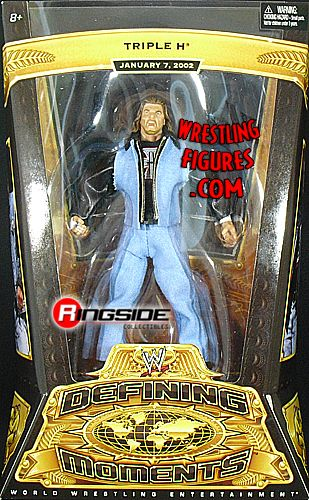 Triple H  WWE Defining Moments 3  Ringside Collectibles