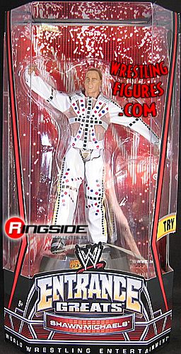 Shawn Michaels  WWE Entrance Greats  Ringside Collectibles