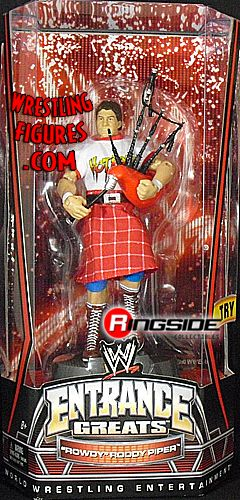 Roddy Piper  WWE Entrance Greats  Ringside Collectibles