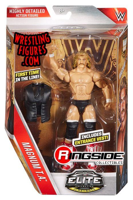 Magnum TA  WWE Elite Legends WWE Toy Wrestling Action