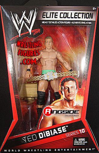 Ted DiBiase Green Tights  WWE Elite 10  Ringside