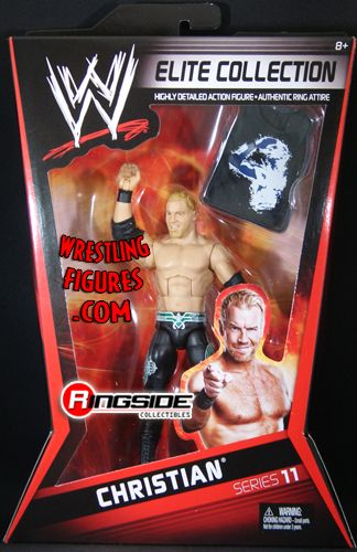 Christian  WWE Elite 11  Ringside Collectibles