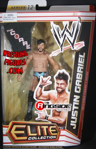Justin Gabriel  WWE Elite 12  Ringside Collectibles