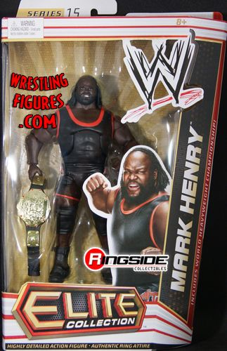 Mark Henry  WWE Elite 15  Ringside Collectibles