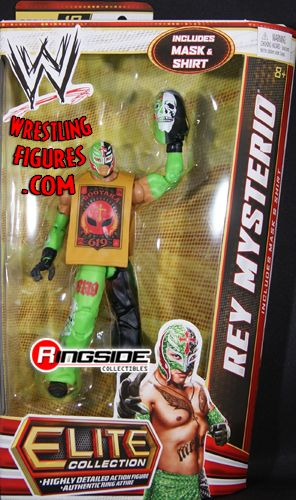 Rey Mysterio  WWE Elite 18  Ringside Collectibles